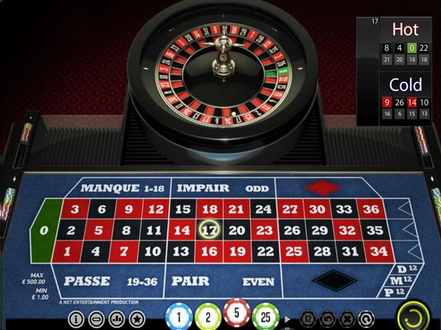 NetEnt French Roulette Multabafta screenshot