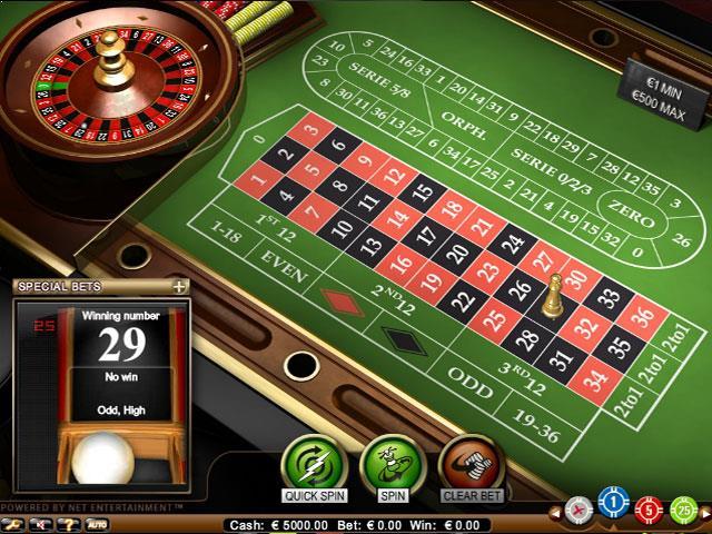 NetEnt Roulette Pro Multabafta screenshot