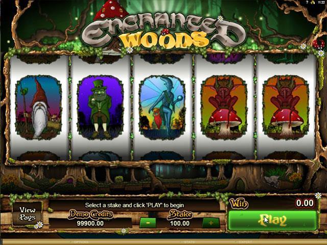 Enchanted Woods microgaming jocuri slot screenshot