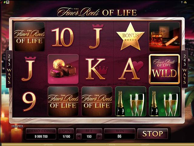 Finer Reels of Life microgaming jocuri slot screenshot