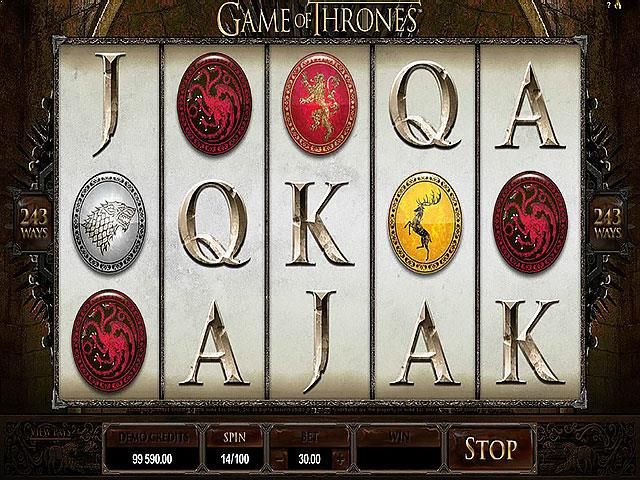 Game of Thrones microgaming jocuri slot screenshot