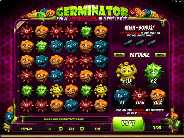 Germinator microgaming jocuri slot screenshot