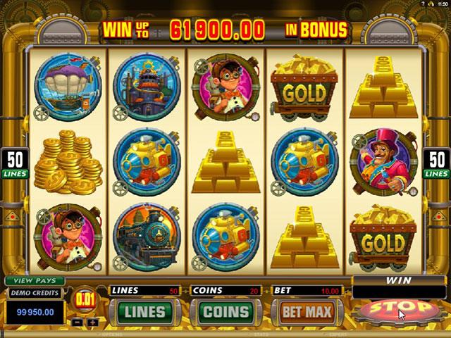 Gold Factory microgaming jocuri slot screenshot
