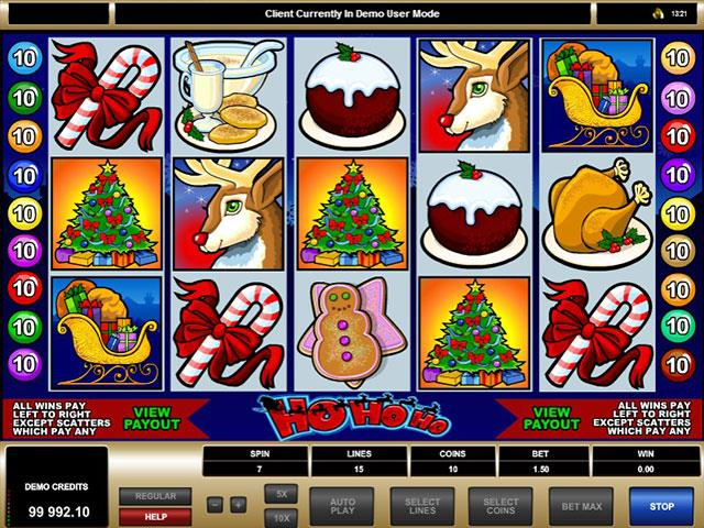 Ho Ho Ho microgaming jocuri slot screenshot