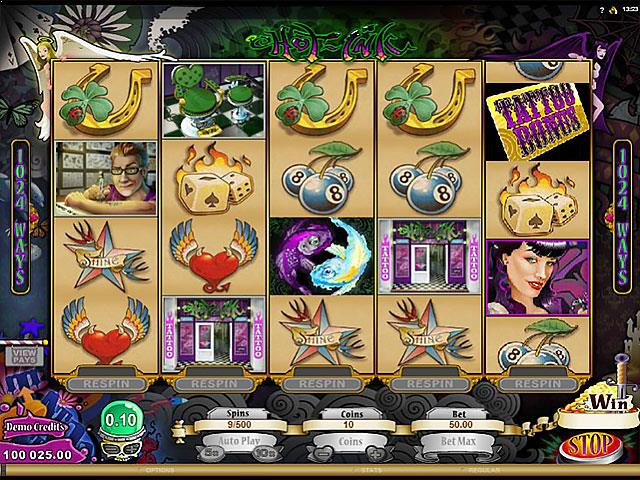 Hot Ink microgaming jocuri slot screenshot
