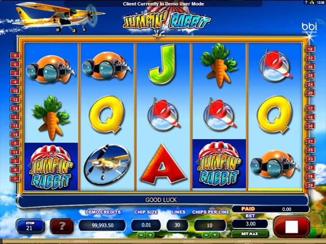 Jumpin Rabbit microgaming jocuri slot screenshot