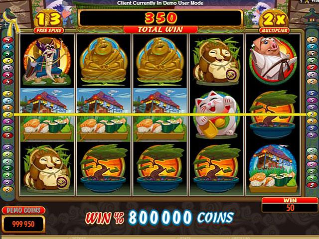 Karate Pig microgaming jocuri slot screenshot