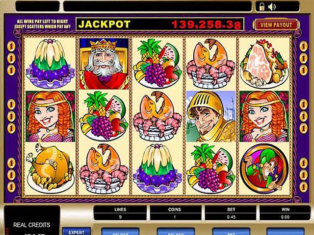 King Cashalot microgaming jocuri slot screenshot