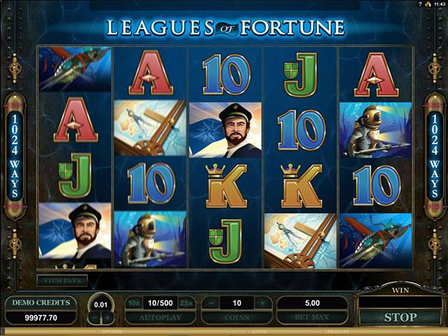 Leagues of Fortune microgaming jocuri slot screenshot