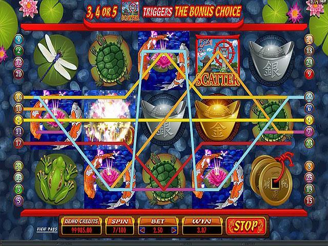 Lucky Koi Microgaming jocuri slot thumbnail