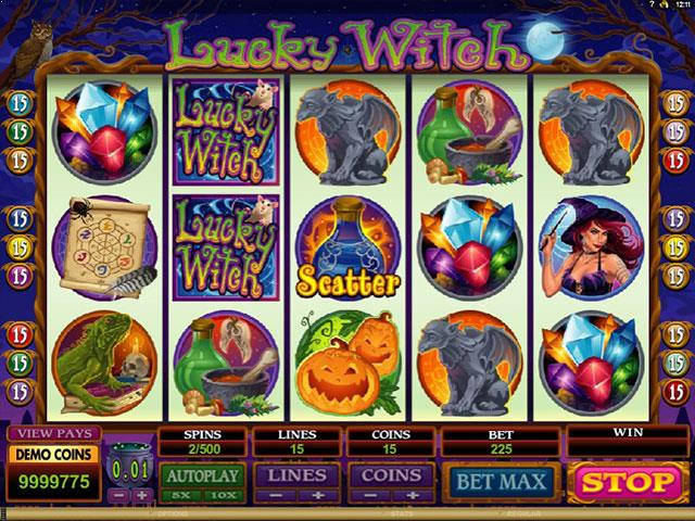 Lucky Witch Microgaming jocuri slot thumbnail