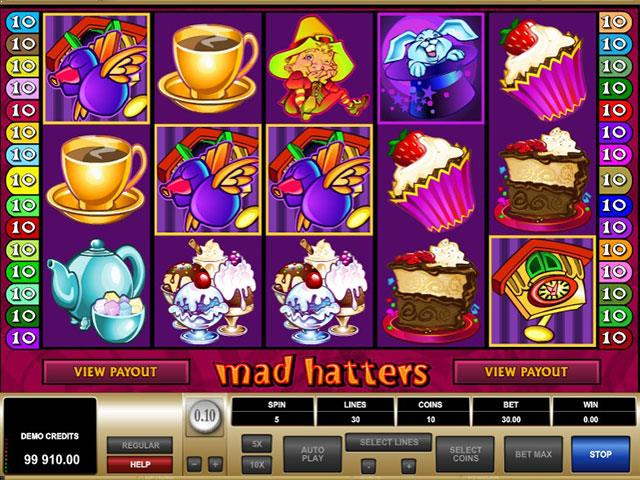 Mad Hatters Microgaming jocuri slot thumbnail
