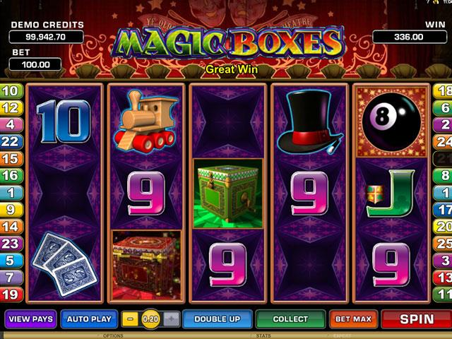 Magic Boxes Microgaming jocuri slot thumbnail