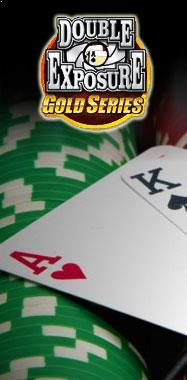Double Exposure Blackjack Gold Microgaming thumbnail