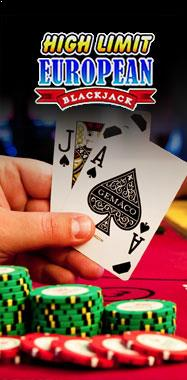 High Limit European Blackjack Microgaming thumbnail