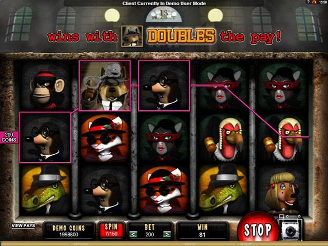 Mugshot Madness Microgaming jocuri slot screenshot