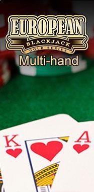 Multi-hand European Blackjack Gold Microgaming thumbnail