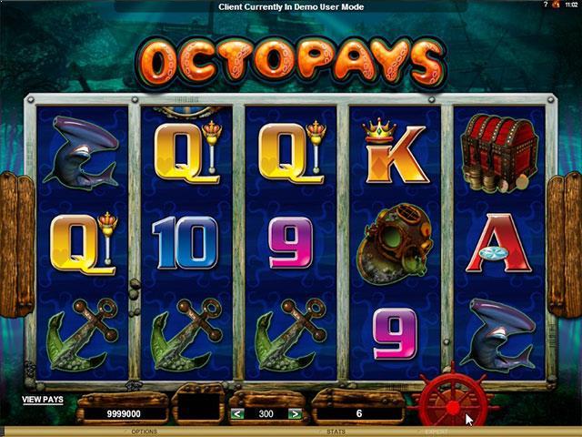 Octopays Microgaming jocuri slot screenshot