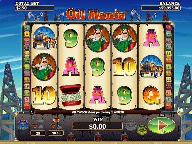 Oil Mania Microgaming jocuri slot screenshot
