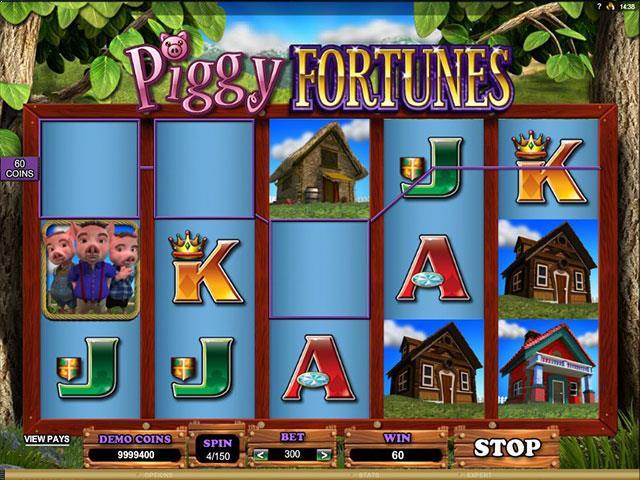 Piggy Fortune Microgaming jocuri slot screenshot