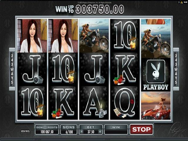 Playboy Microgaming jocuri slot screenshot