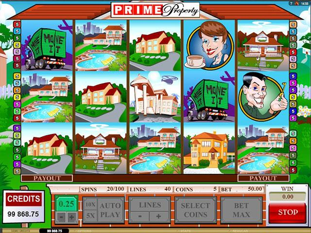 Prime Property Microgaming jocuri slot screenshot