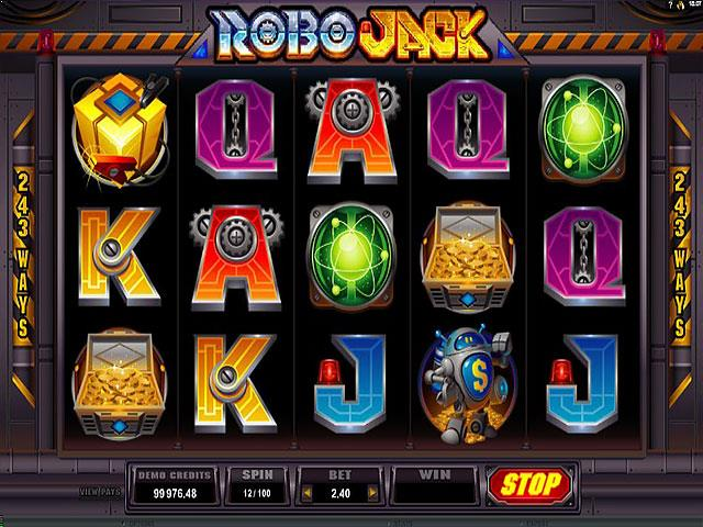 Robo Jack Microgaming jocuri slot screenshot