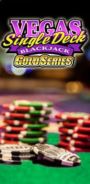 Vegas Single Deck Blackjack Gold Microgaming thumbnail