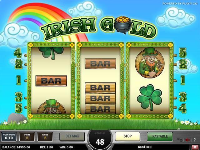 Jocuri Ca La Aparate Irish Gold PlaynGo SS - Multabafta.com