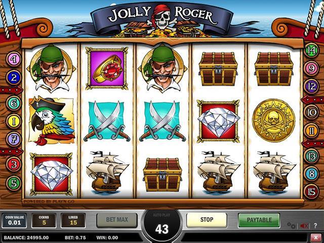 Jocuri Ca La Aparate Jolly Roger PlaynGo SS - Multabafta.com