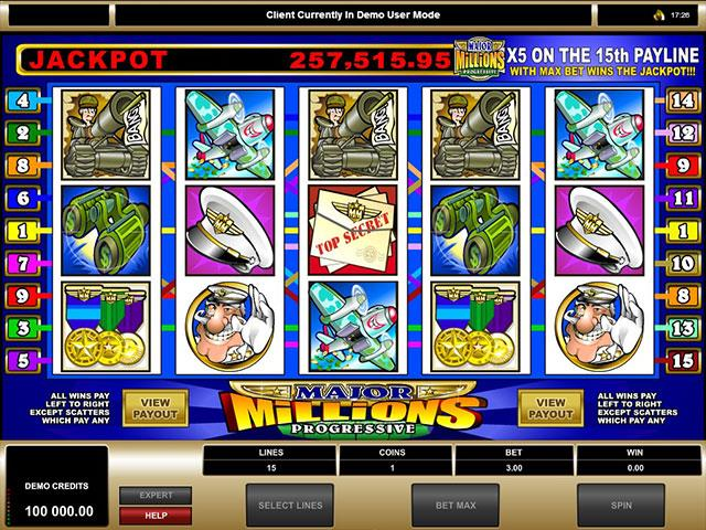 Jocuri Ca La Aparate Major Millions Microgaming SS - Multabafta.com