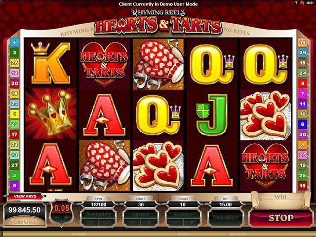 Jocuri Ca La Aparate Rhyming Reels - Hearts & Tarts Microgaming SS - Multabafta.com