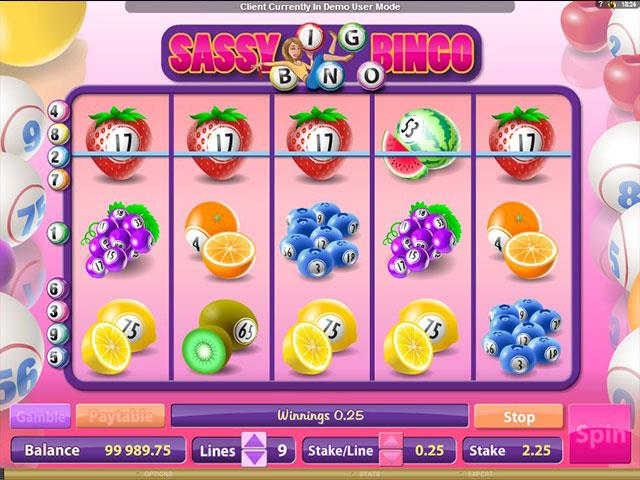 Jocuri Ca La Aparate Sassy Bingo Microgaming SS - Multabafta.com