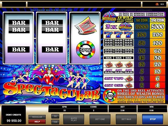 Jocuri Ca La Aparate Spectacular Wheel of Wealth Microgaming SS - Multabafta.com