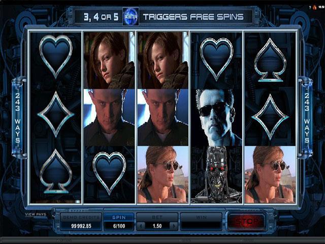 Jocuri Ca La Aparate Terminator 2 Microgaming SS - Multabafta.com