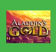 Aladdin's Gold online casino logo